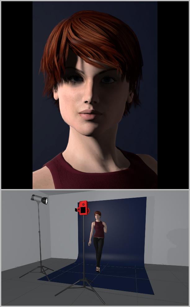Jak nasvítit portrét I - boční svícení