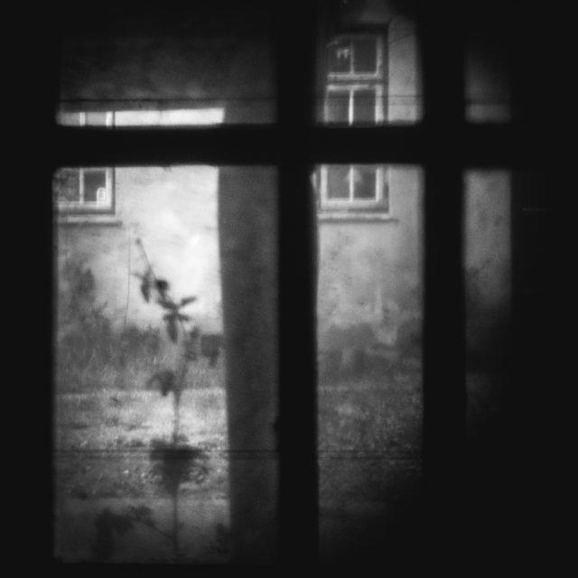 Jak vylepšit černobílé fotografie: fotka využívající orámování hlavního motivu pomocí černé a bílé.