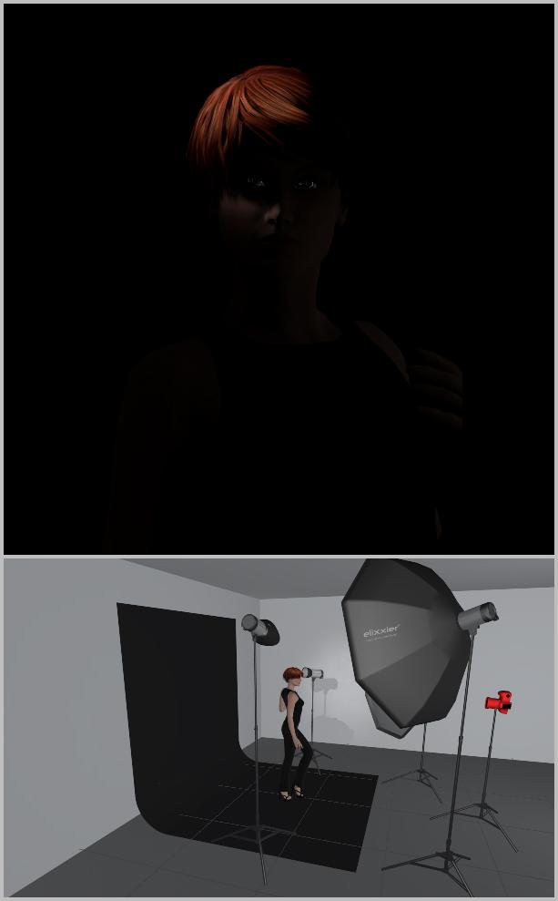 Jak nasvítit portrét I - efektové světlo