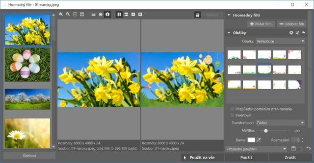 Rámečky na fotky ke stažení do ZPS X: hromadné přidání rámečků.