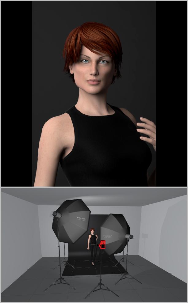 Jak nasvítit portrét I - klíčové světlo
