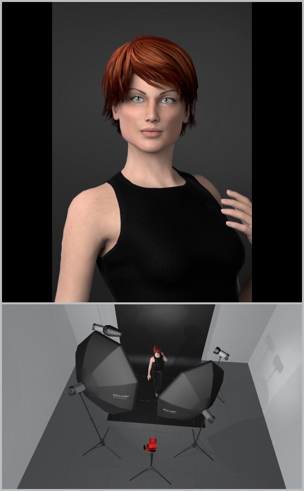 Jak nasvítit portrét I - kombinace světel