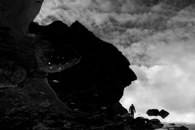 Jak vylepšit černobílé fotografie: snímek s výrazným kontrastem.