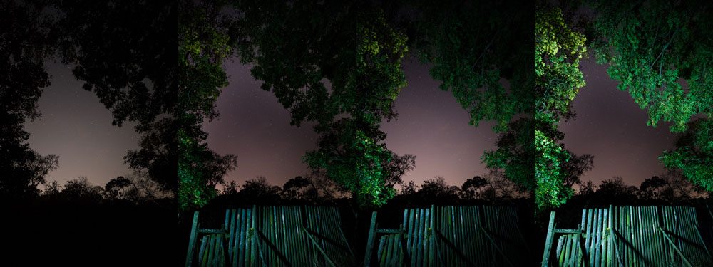 tipy jak fotit krajinu noc baterka