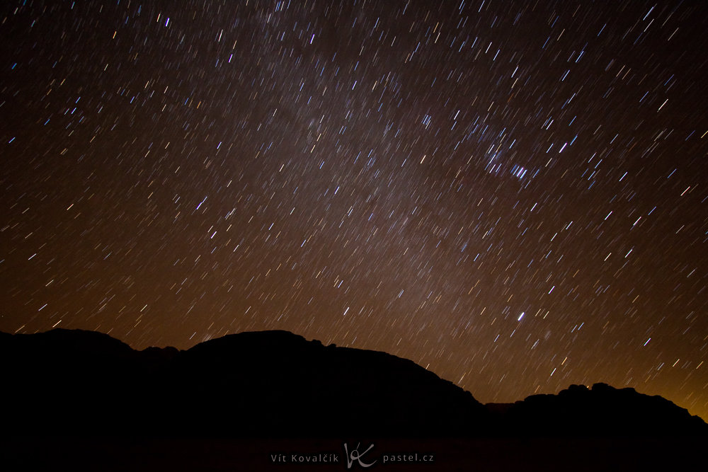 tipy jak fotit krajinu protahle hvezdy