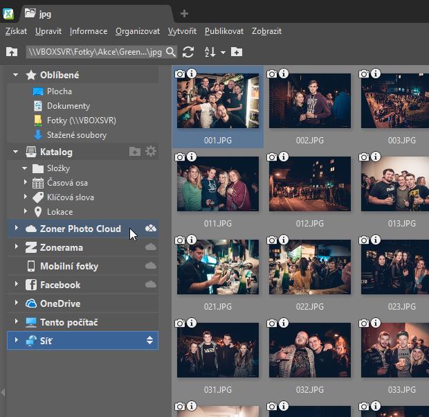 Zálohování fotek do cloudu: první spuštění Zoner Photo Cloudu.