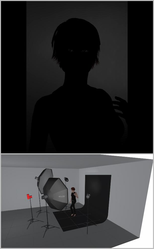 Jak nasvítit portrét I - světlo na pozadí