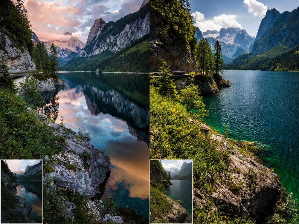 Jak fotit krajinu v různých podmínkách II - večer a poledne