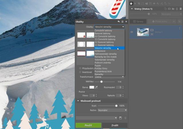 Rámečky na fotky ke stažení do ZPS X: výběr rámečků.