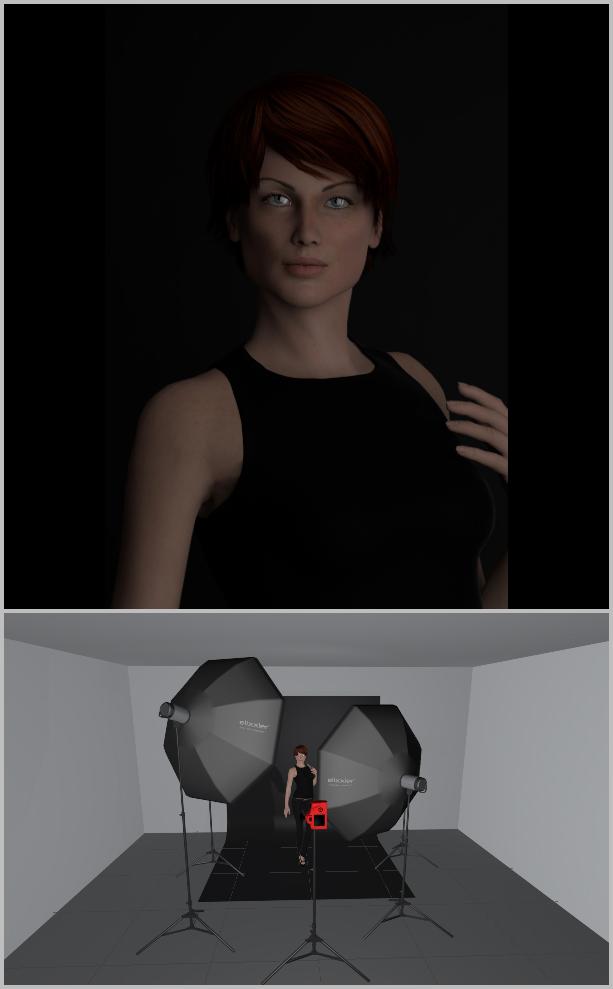 Jak nasvítit portrét I - výplňové světlo