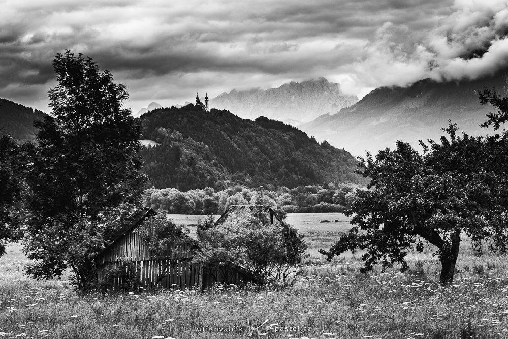 Jak fotit krajinu v různých podmínkách II - zataženo černobíle