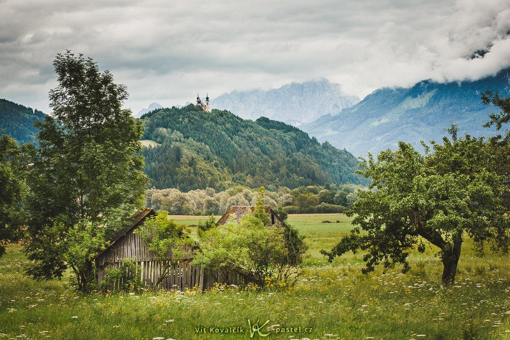 Jak fotit krajinu v různých podmínkách II - snímek po úpravách