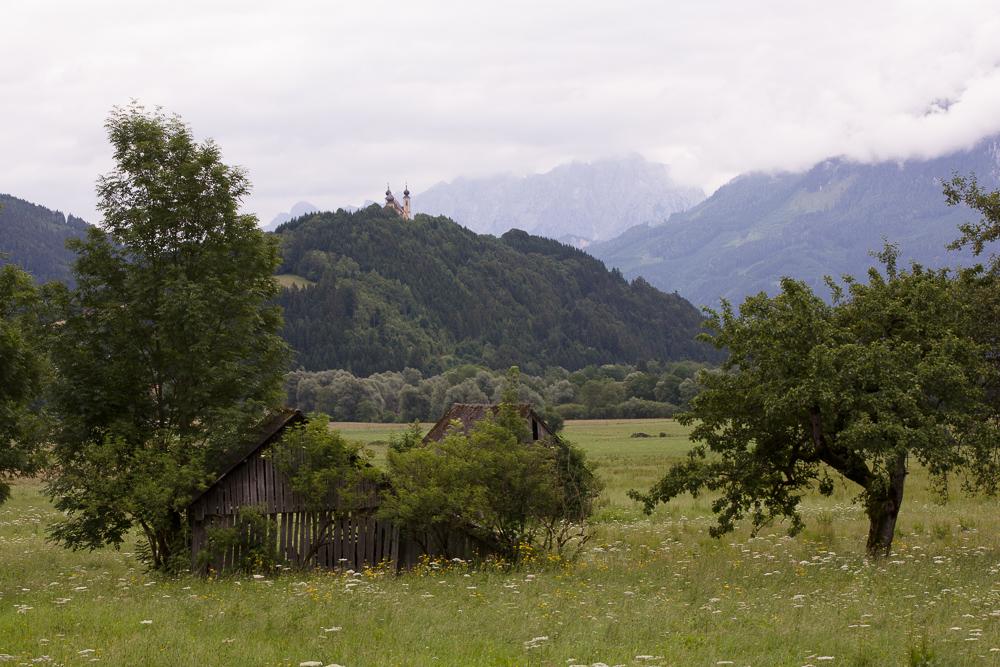 Jak fotit krajinu v různých podmínkách II - zataženo, originální snímek