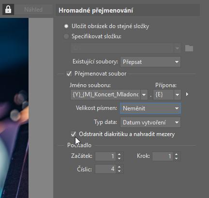 Udělejte si pořádek ve fotoarchivu - mezery