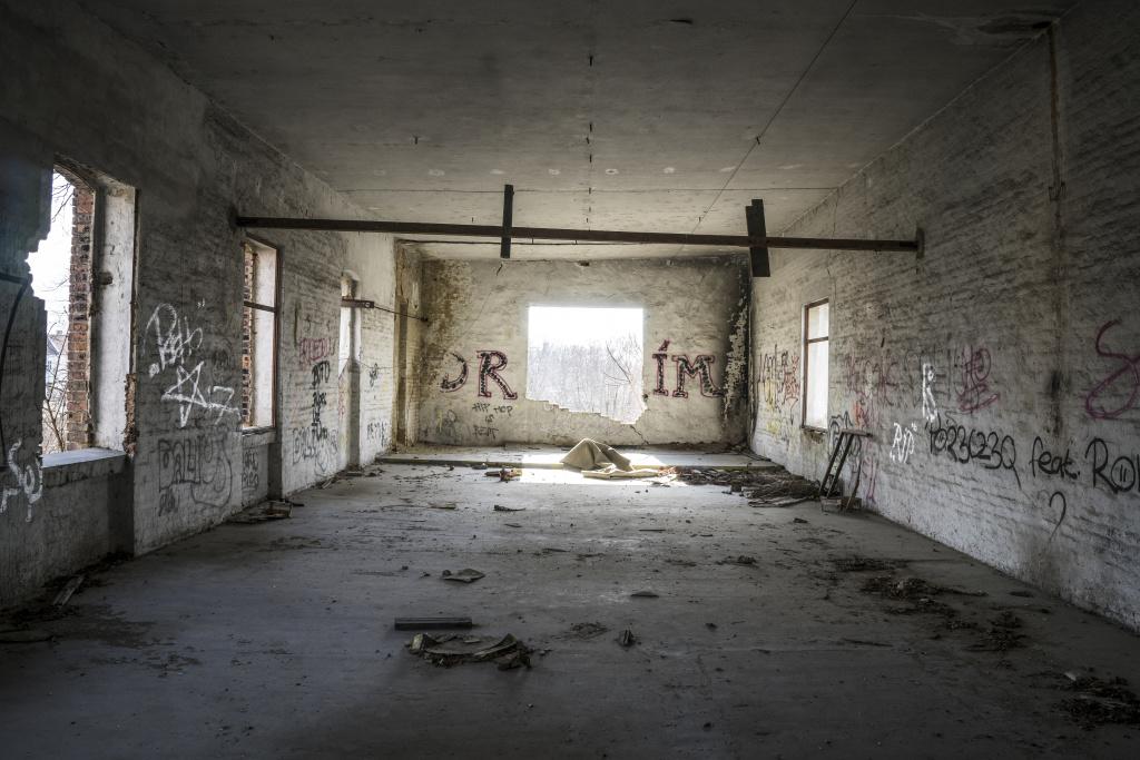 Jak najít opuštěná místa - drim