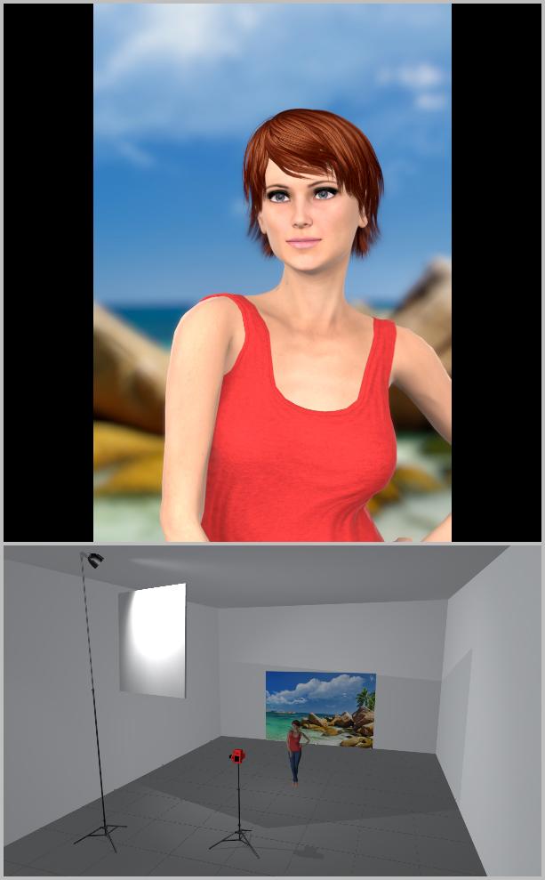 Jak nasvítit portrét II - f2, rozptýlené světlo