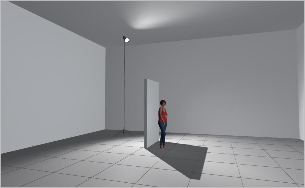 Jak nasvítit portrét II - otevřený stín