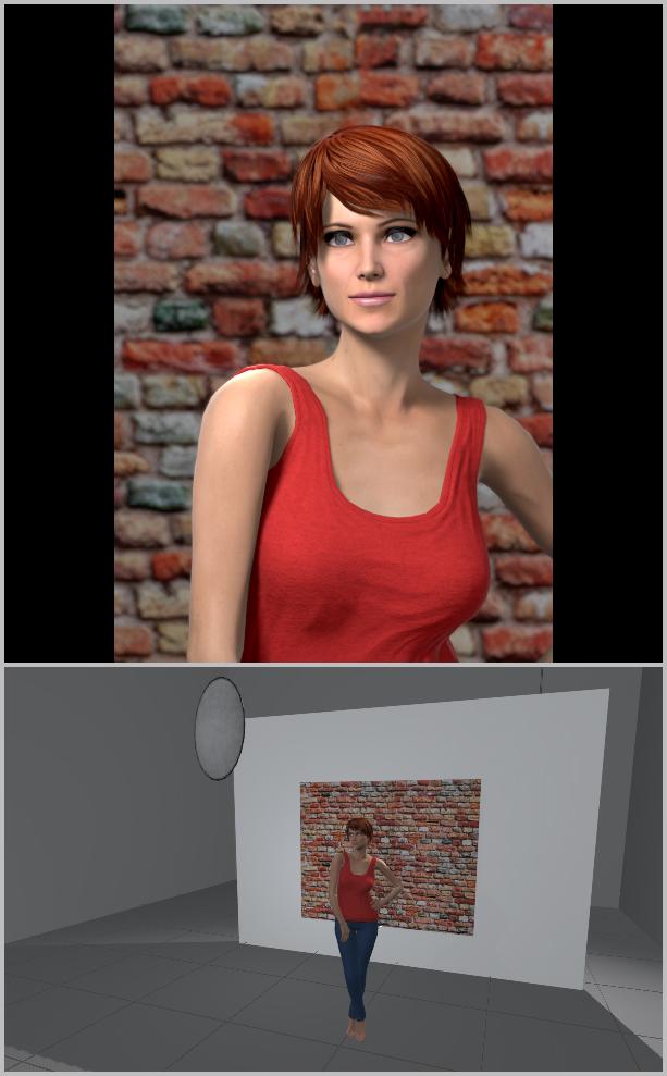 Jak nasvítit portrét II - otevřený stín s odrazkou