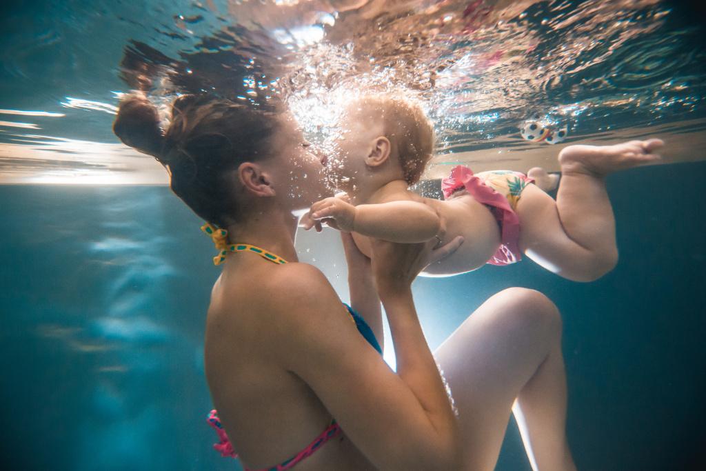 Jak fotit pod vodou - protisvětlo