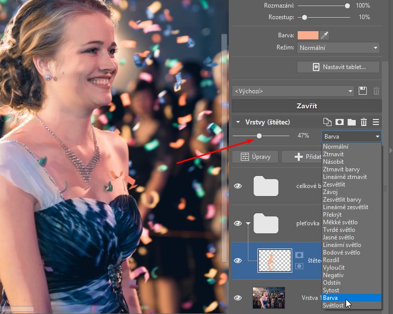 Jak opravit barvu pleti na fotkách? - barva