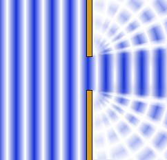 Co je difrakce: ohyb světla.