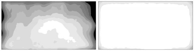 Jak vybrat monitor pro fotografy: elektronická korekce jasových a barevných odchylek pixelů.