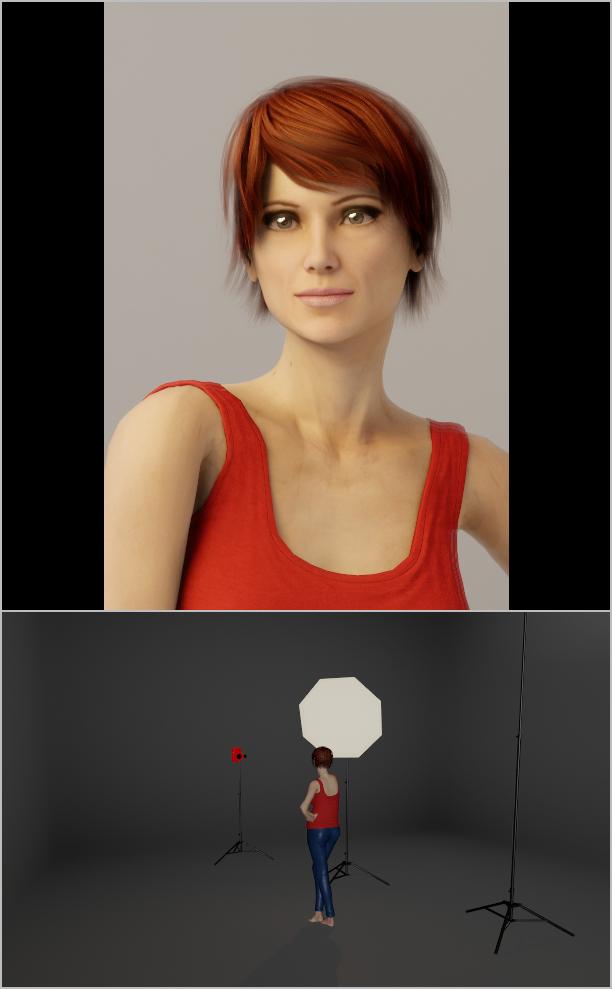 Jak nasvítit portrét IV: rozptýlené světlo a softbox s CTO
