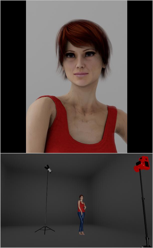 Jak nasvítit portrét IV: rozptýlené světlo