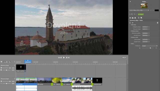 Zoner Photo Studio X přináší plnohodnotný střih videa a export presetů