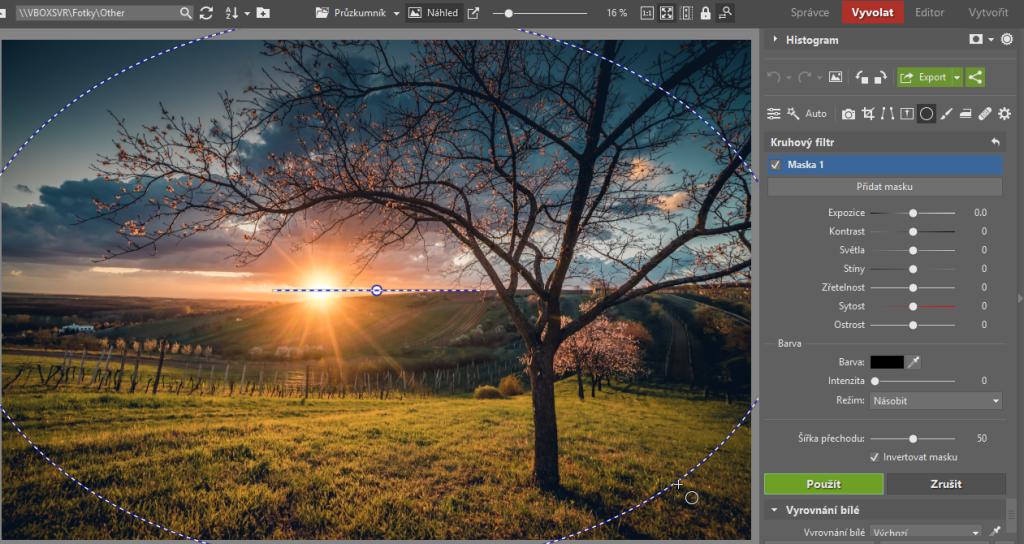 3 tipy, jak kreativně využít kruhový filtr - sad