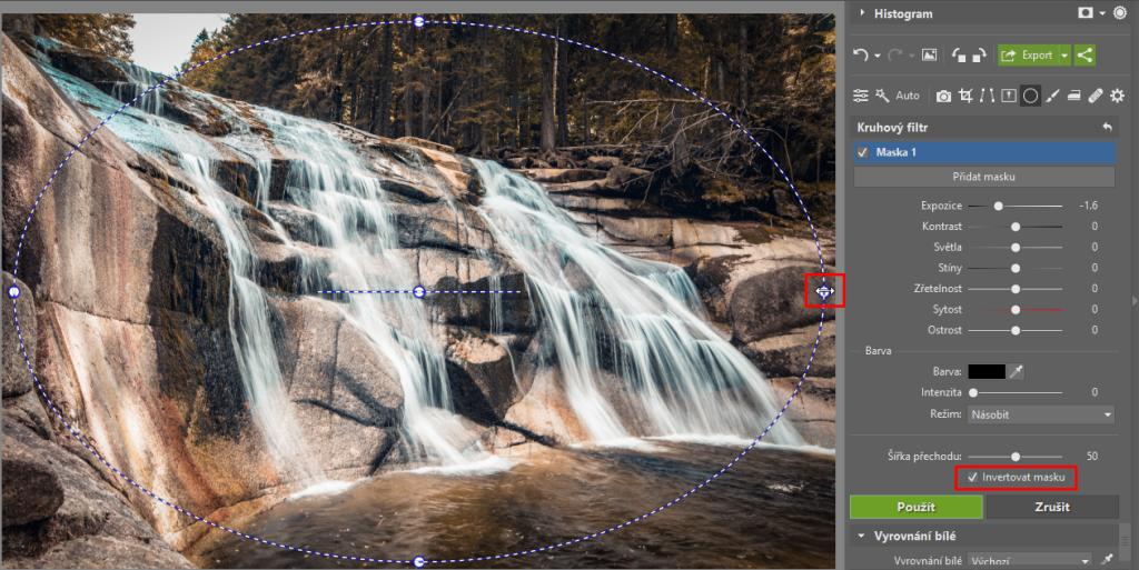 3 tipy, jak kreativně využít kruhový filtr - vinětace