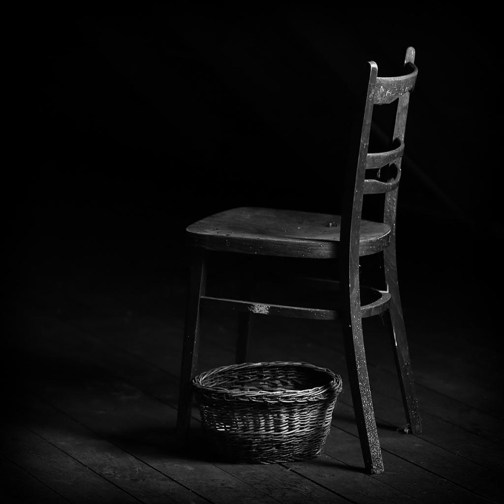 Jak fotit zátiší - židle