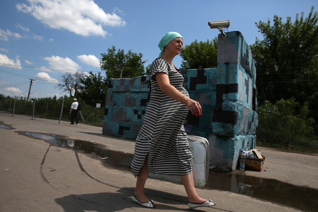 Pavel Nasadil fotil boje na Ukrajině - Ukrajina