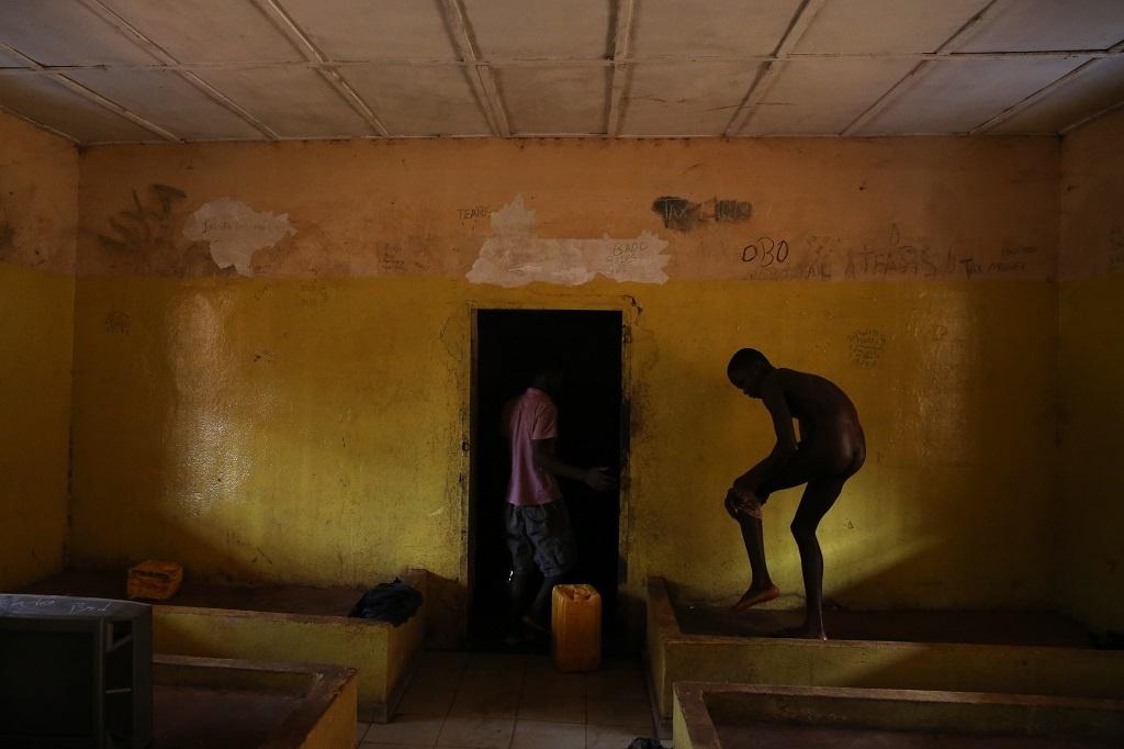 Pavel Nasadil fotil boje na Ukrajině - Sierra Leone