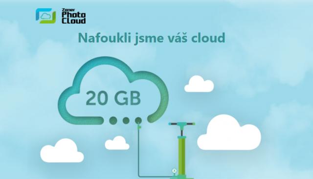 Zoner Photo Cloud zvyšuje pro všechny kapacitu na 20 GB