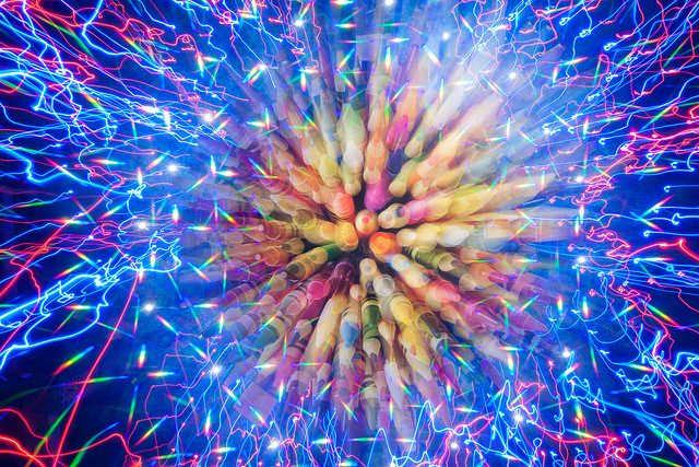zoom burst efekt