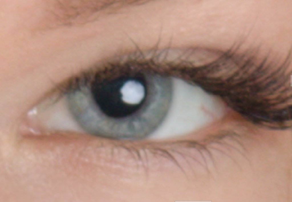 Naučte se retušovat portrét - oko před