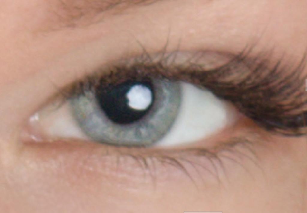 Naučte se retušovat portrét - projasněné oko