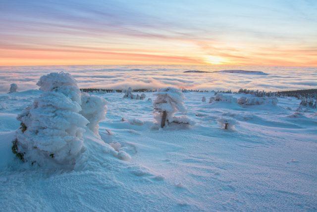 inverze foto editace zps hory snih uprava krajina