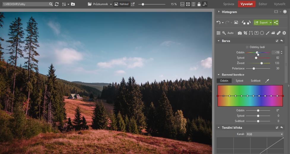 Jak zrychlit úpravy fotek a zároveň zachovat osobitý styl - odstín