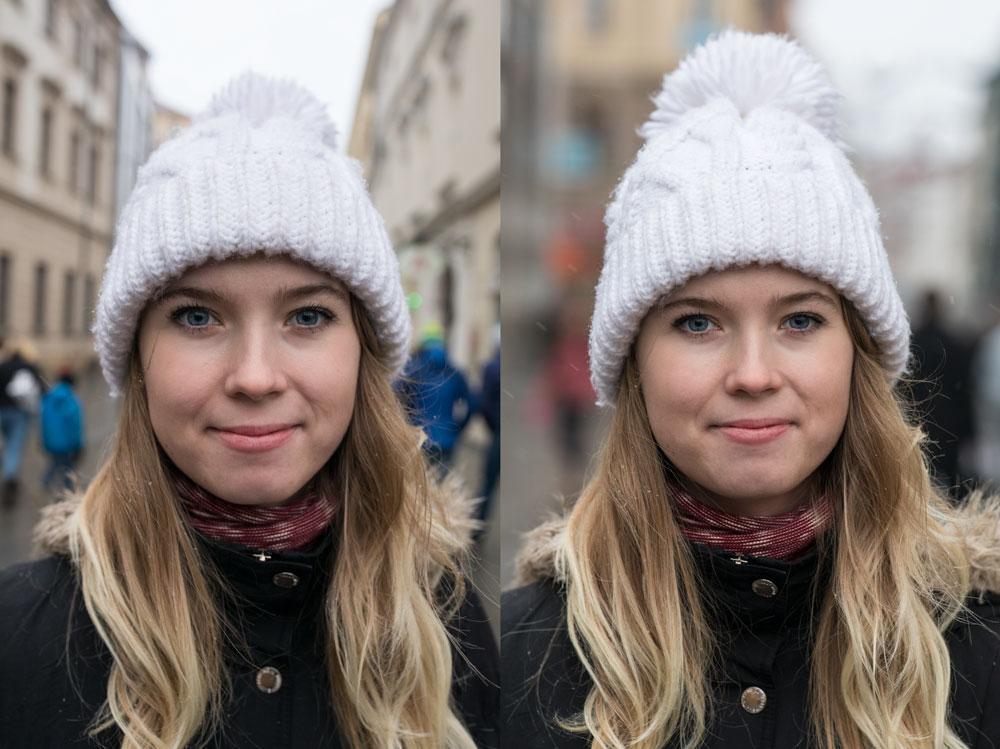 Jak vyfotit dobrou profilovou fotku - srovnání ohnisek