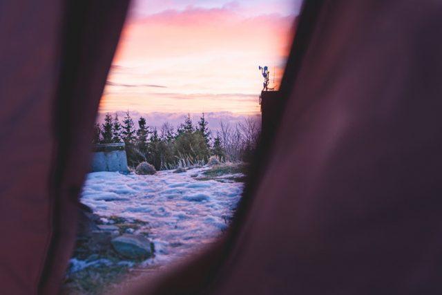 hory praded panorama foto editace krajina snih vyvazeni bile
