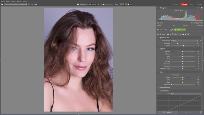 Naučte se retušovat portrét - původní
