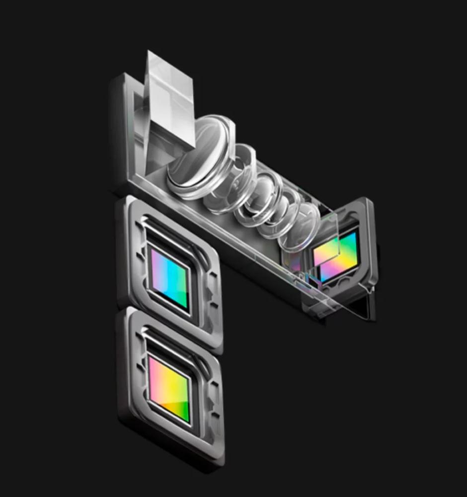 Více objektivů v mobilu - oppo periskop