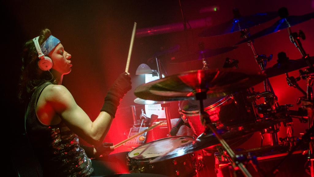 Jak fotit koncerty - na pódiu, Gaia Mesiah