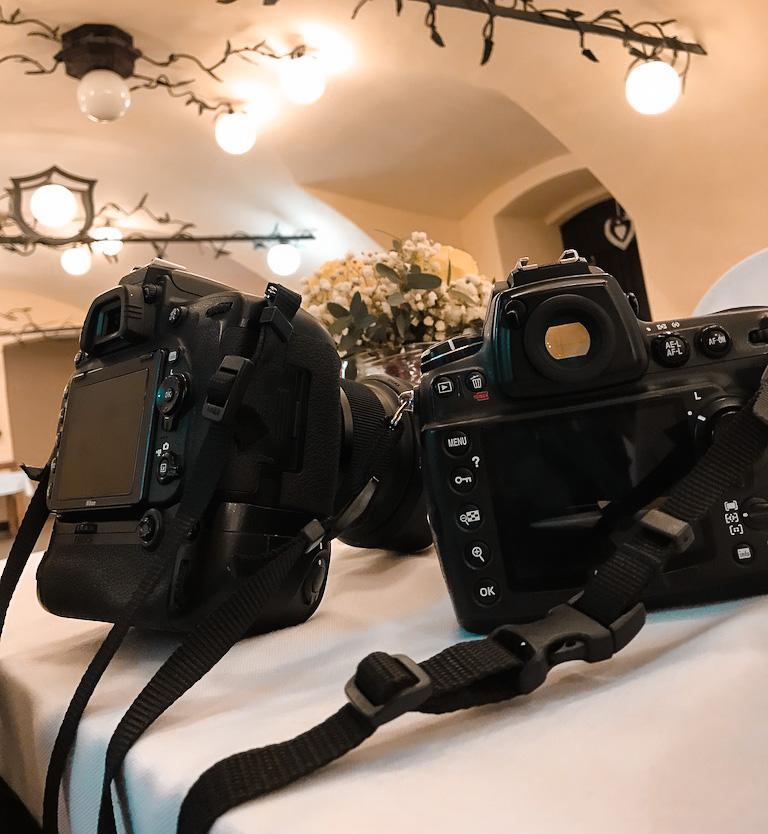 Co vzít s sebou na focení svatby - set