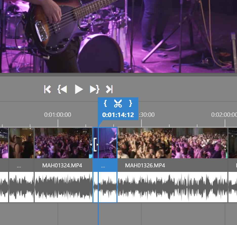 Vylepšená úprava videí v ZPS X - střih