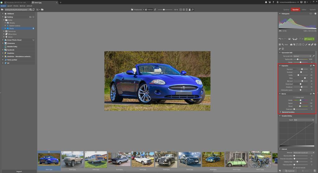 Automatická úprava fotografií - automatika