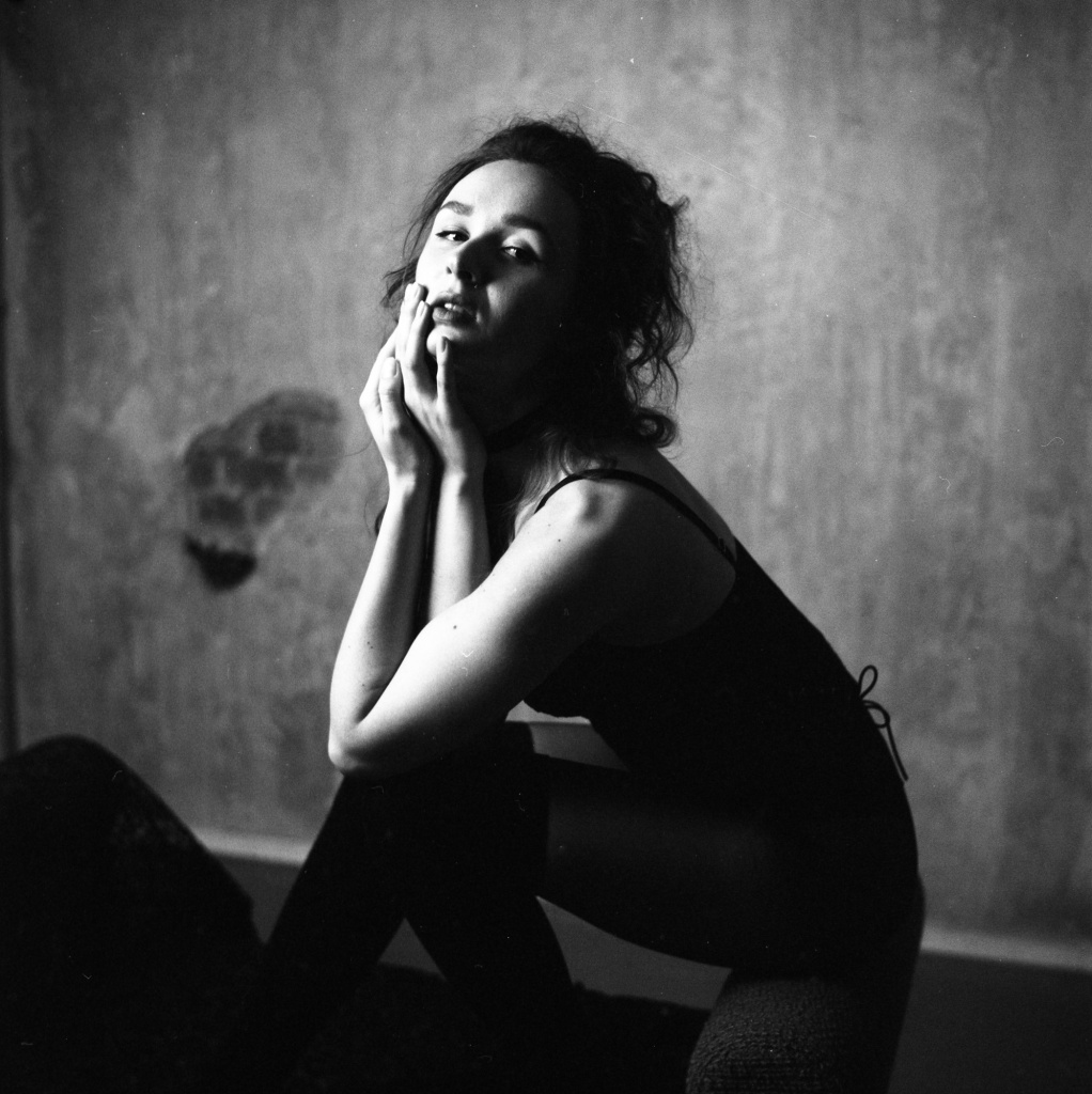 Jak začít s analogem - portrét ženy