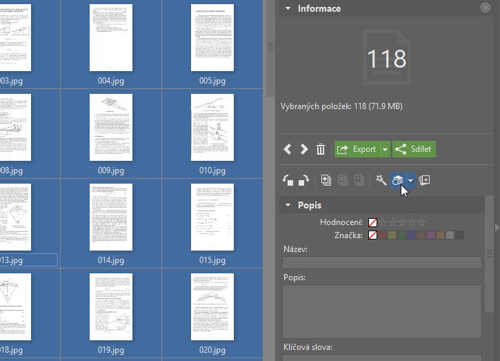 Upravujte PDF soubory - hromadný filtr